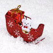 Santa's Sleigh — Stock Photo