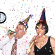 New Years Eve Celebration — Stock Photo