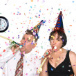 New Years Eve Celebration - Stock Photo
