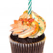 Isolated cupcake — Stock Photo