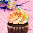 Cupcake party — Stock Photo