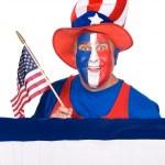 愛国心が強い男 — ストック写真