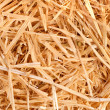 A close up of harvested hay - Foto Stock
