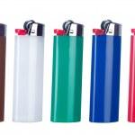 Butane lighters — Stock Photo