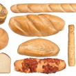 Bread collection — Stock Photo #7453794