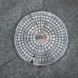 Manhole cover — Stock Photo #7453892