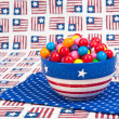 July Fourth Gumballs — Stock Photo #7453895