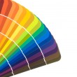 Paint color cards — Stock Photo