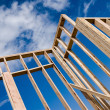 Stock Photo: House frame