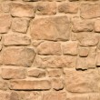 Stone brickwork of a walkway - Stock Photo