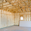 Home construction and insulation — Stock Photo