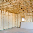 Home construction and insulation - Stock Photo