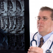 doctor and xray — Stock Photo