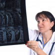 Female physician and doctor — Stock Photo #7454351