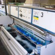 Stock Photo: Manufacturing plating environment