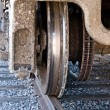 Train Wheel — Stock Photo #7454411