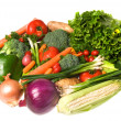 Vegetable assortment - Stock Photo