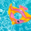 Swimming pool float - Stock Photo