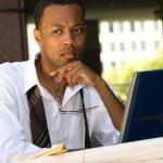 African American Executive Businessman — Stock Photo #7454757