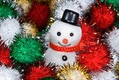 Christmas snowman — Stockfoto