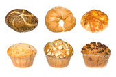 Bakery montage — Stock Photo