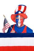 Patriotic Man — Stock Photo
