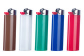 Butane lighters — Stock Photo
