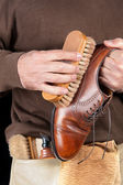 Shoeshiner — Stock Photo