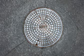Manhole cover — Foto Stock