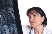 Vrouwelijke arts — Stockfoto
