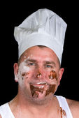 Sloppy chef — Stock Photo