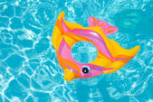 Swimming pool float — Stock Photo