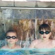 Boys in a swimming pool — Stock Photo #7636838