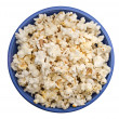Bowl of popcorn - Stok fotoraf