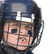 Youth Hockey Player - Stock Photo