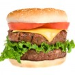 Juicy hamburger — Stock Photo #7636975