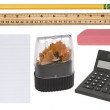 Office supplies — Stock Photo #7637061