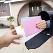Delivering mail — Stock Photo #7637069