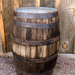 Oak barrel - Stock Photo