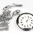 Pocket watch on white background — Stock Photo #7637523