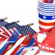 July fourth utensils — Stock Photo #7637594