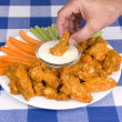 Chicken hot wings — Stock Photo