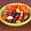 Stock Photo: Bowl of assorted olives