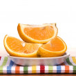 Fresh sliced oranges — Stock Photo