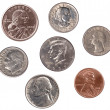 Set of U.S. Coins — Stock Photo #7638168