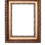 Decorative frame isolated on white — Stock Photo #7638380