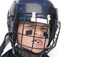 Youth Hockey Player — Stock Photo