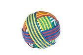 Rubber band ball — Stock Photo