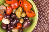 Assorted olives — Stock Photo