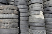 Old car tires — Stock Photo